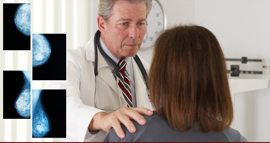 Doctor delivering bad news to a female patient