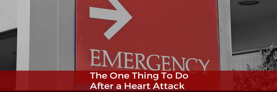 One Thing To Do After a Heart Attack