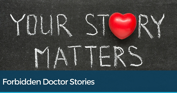 Your story matters text