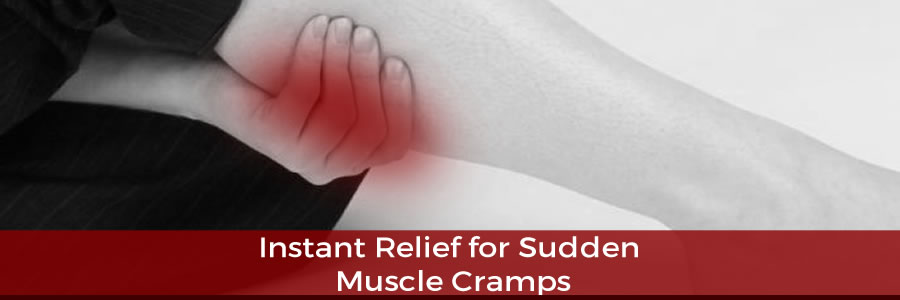 Instant Relief for Sudden Muscle Cramps