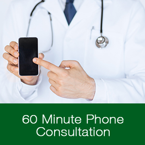 60-minute phone consultation from Forbidden Doctor