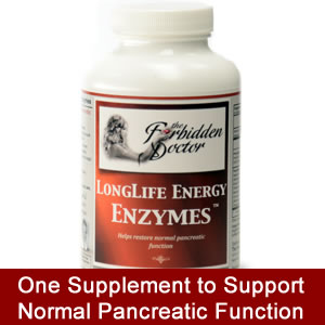 LongLife Energy Enzymes by Forbidden Doctor