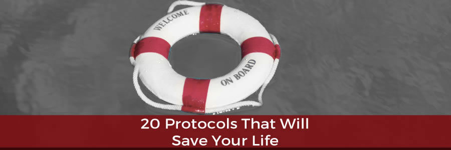 20 Supplement Protocols That Will Save Your LIfe