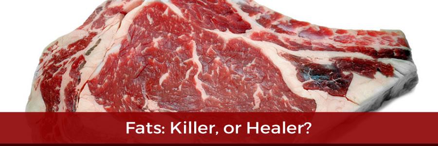 Fats: Killer or Healer?